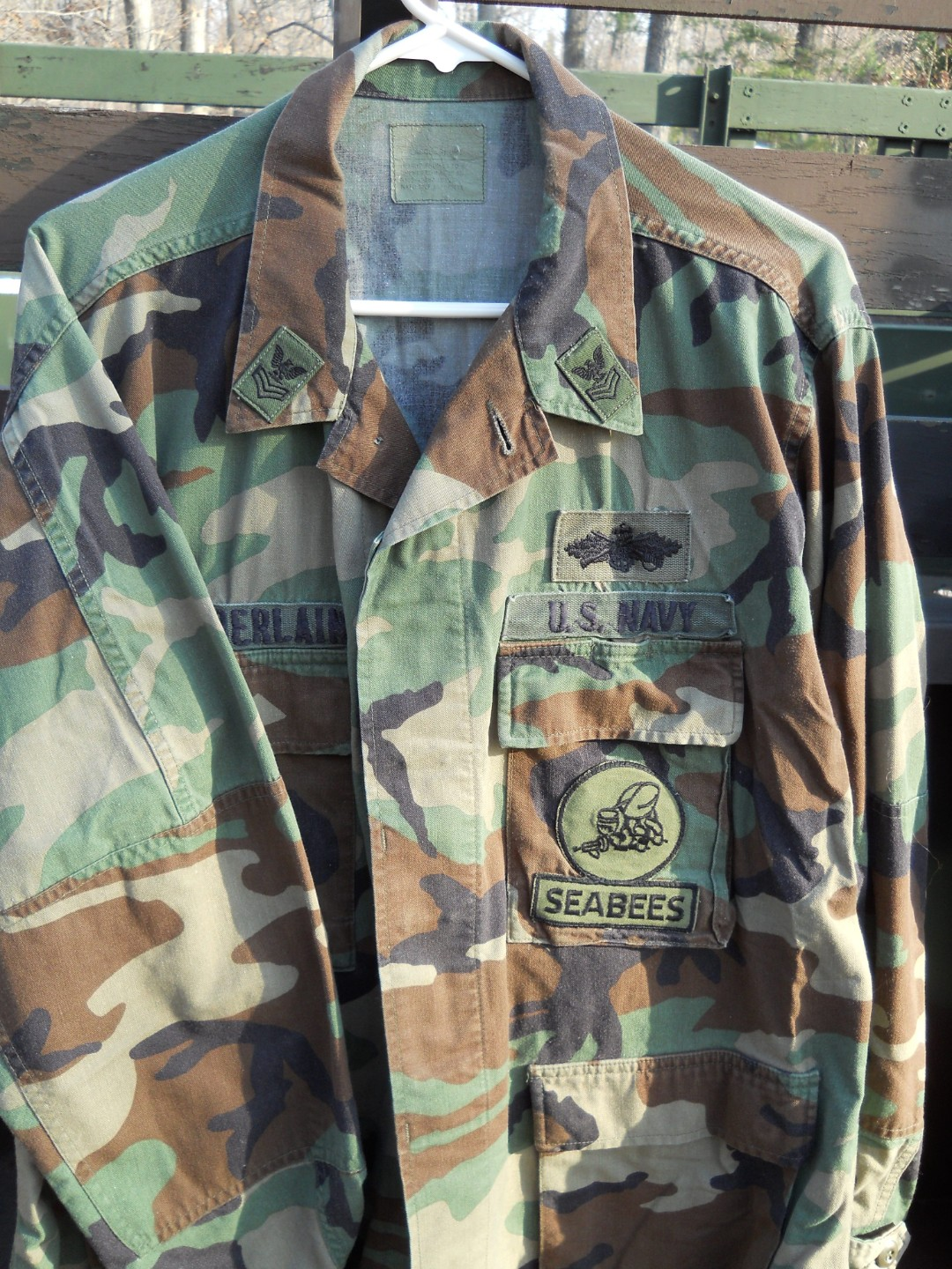 ASSORTED MILITARY UNIFORMS, ARMY, NAVY BDU'S JACKETS $10 EA